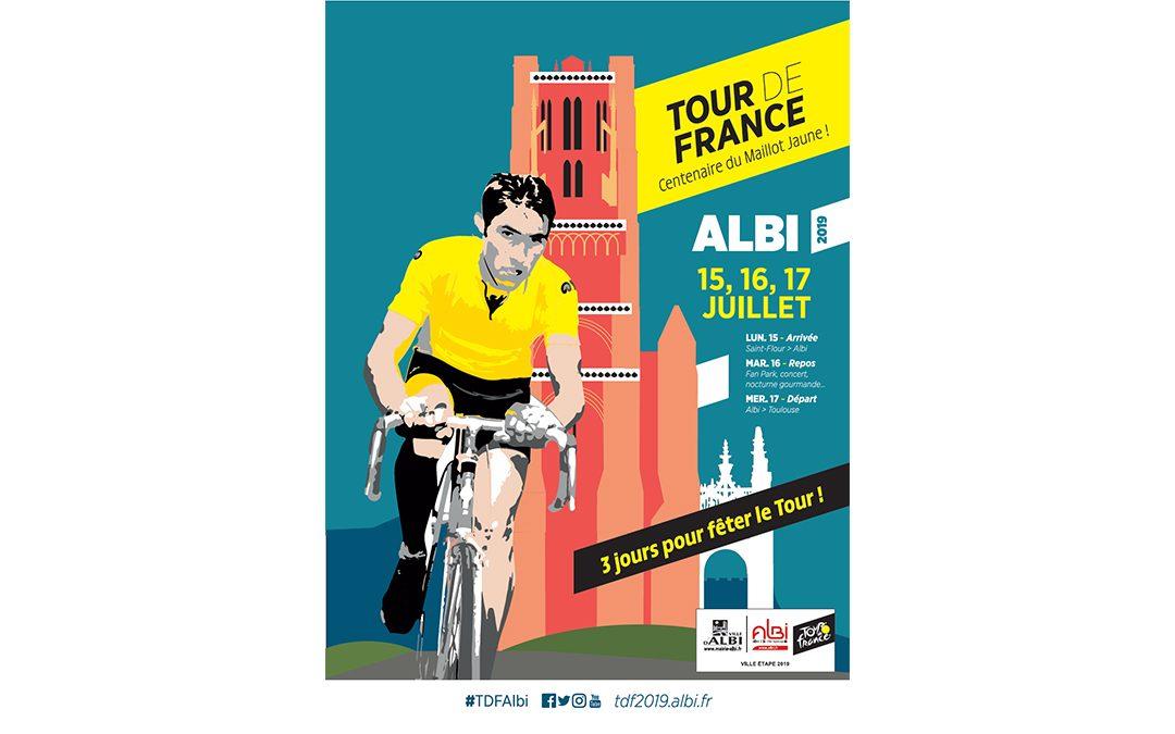 Et l'on parlera forcément d'Albi en juillet : Le Tour de France y sera pour 3 jours