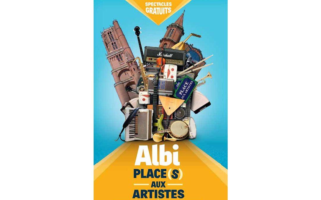Place(s) aux artistes – Le grand rendez-vous culturel de l'été avec + de 75 animations gratuites